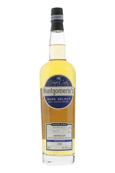 Montgomerie's Aberfeldy Single Malt Scotch Whisky