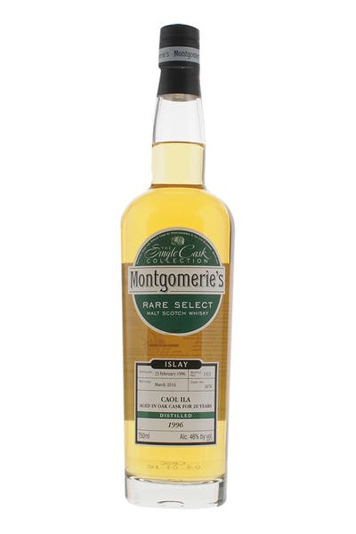 Montgomerie's Caol Lla Single Malt Scotch Whisky