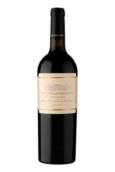 Monticello Vineyards Jefferson Cuvée Cabernet Sauvignon