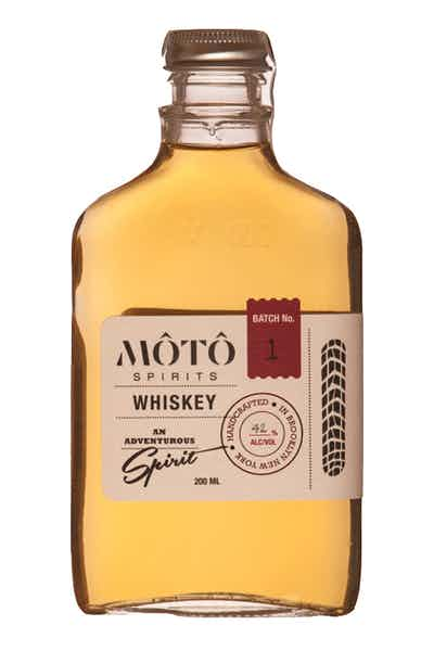 MOTO Spirits Aged Rice Whiskey