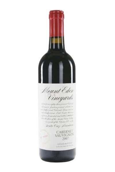 Mount Eden Vineyards Santa Cruz Mountains Cabernet Sauvignon Estate 2012
