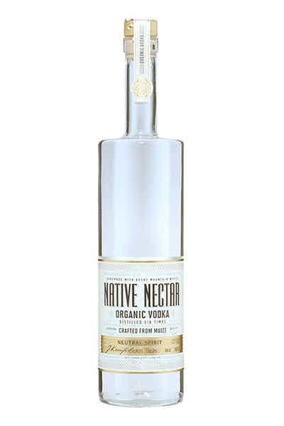 Native Nectar Organic Vodka