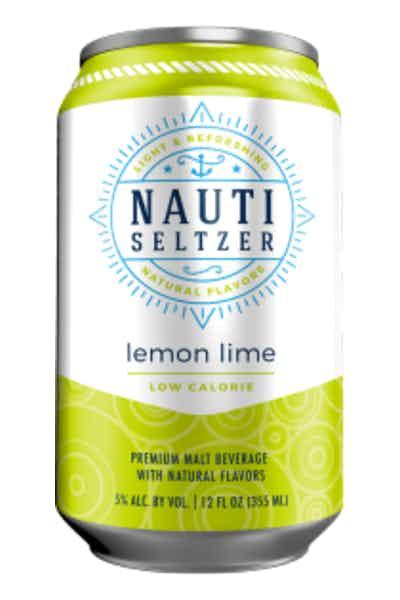 Nauti Seltzer Lemon Lime