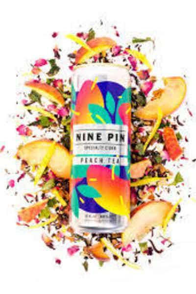 Nine Pin Peach Tea Cider