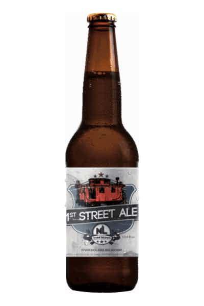 No Label 1st Street Blonde Ale