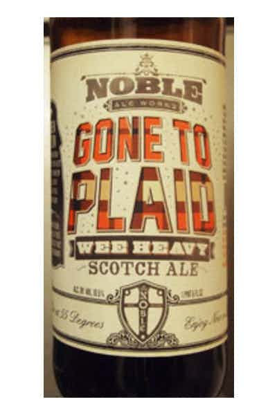 Noble Ale Works Gone To Plaid
