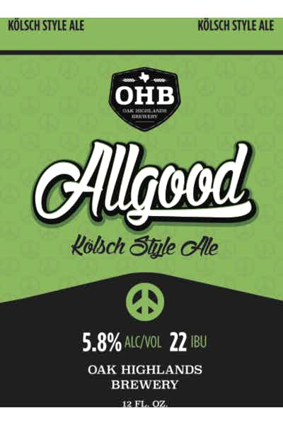 Oak Highlands Allgood Kolsch