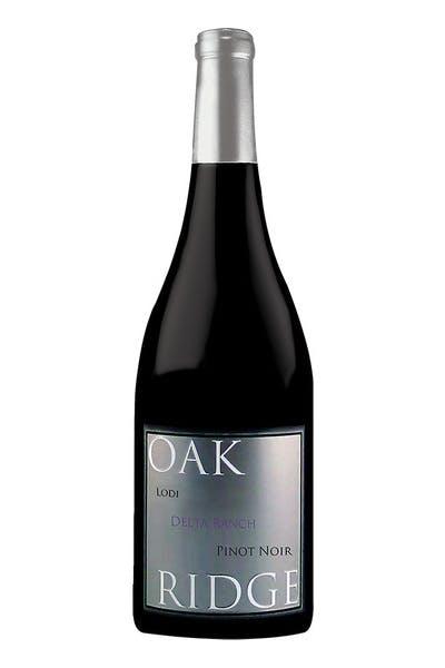 Oak Ridge Pinot Noir Lodi