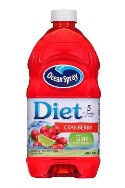 Ocean Spray Diet Cranberry with Lime Juice Drink