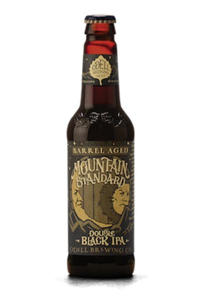 Odell Barrel Aged Mountain Standard Double Black IPA