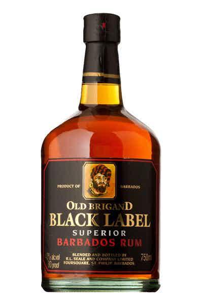Black Label Price >> Old Brigand Black Label Rum
