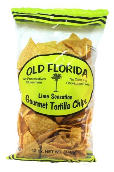 Old Florida Lime Sensation Tortilla Chips