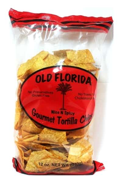 Old Florida Nice & Spicy Tortilla Chips