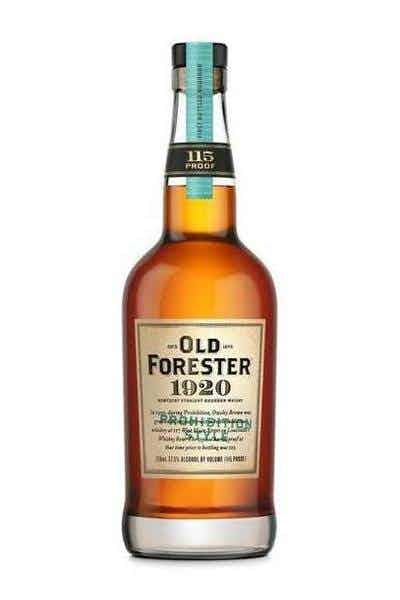 Old Forester 1920 Prohibition Style Bourbon