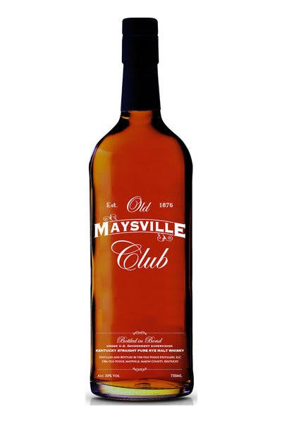 Old Maysville Club Rye Malt Whiskey