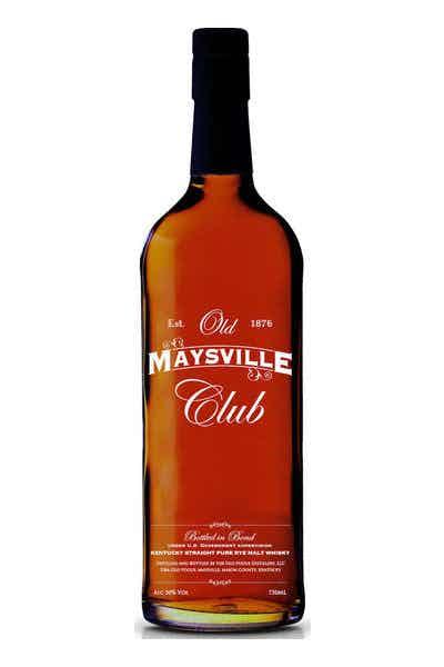 Old Maysville Club Rye Malt Whiskey