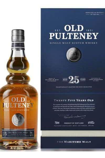 Old Pulteney 25 Year Old Single Malt Scotch
