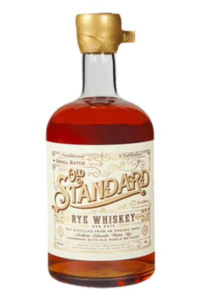 Old Standard Organic Rye Whiskey