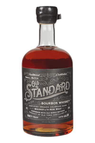 Old Standard Organic Bourbon Whiskey