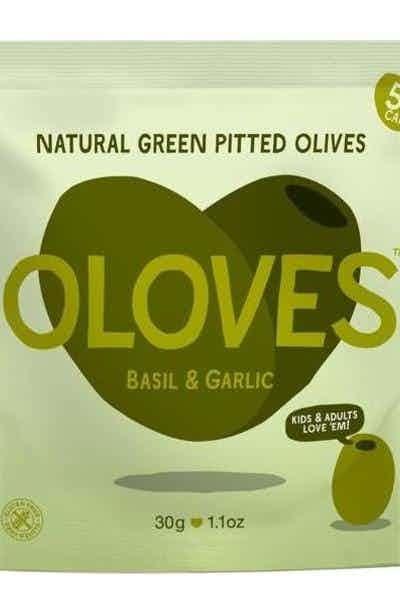 Oloves Basil & Garlic Olive Snacks