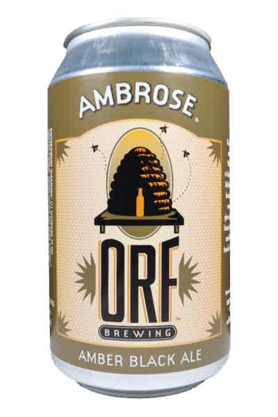Orf Ambrose Amber Black Ale