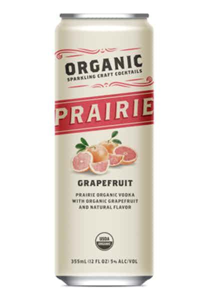Prairie Organic Sparkling Craft Cocktails Grapefruit