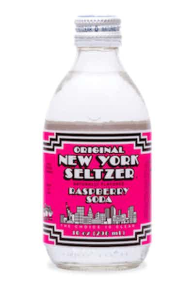 Original New York Raspberry Seltzer Soda