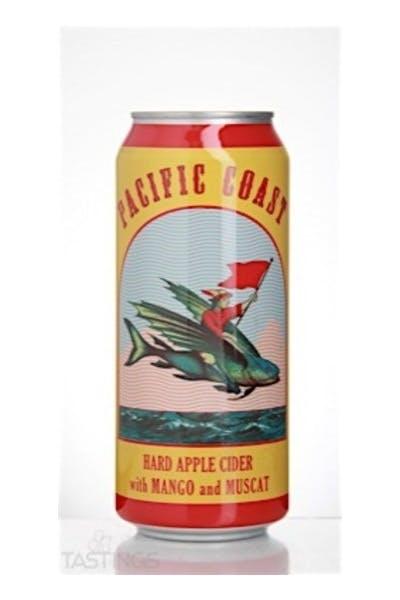 Pacific Coast Hard Apple Cider With Mango