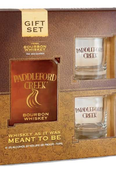 Paddleford Creek Small Batch Bourbon Gift Pack With 2 Glasses