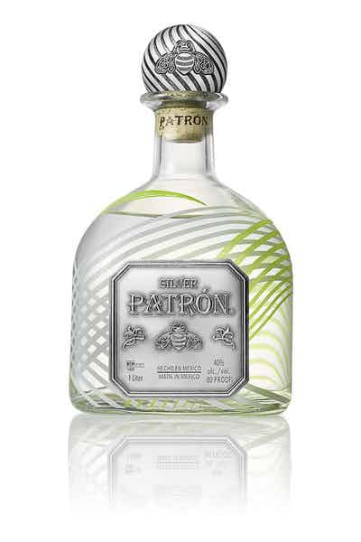 2018 Limited-Edition Holiday Patrón Silver