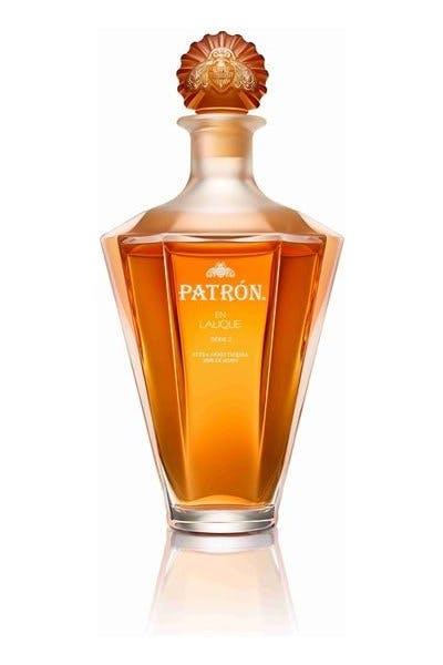 Patron Extra Anejo En Lalique Serie II