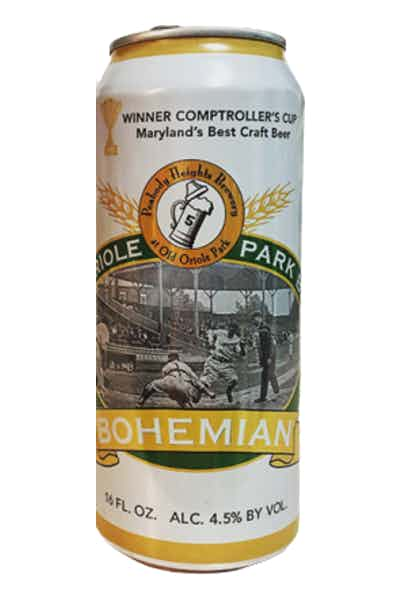 Peabody Heights Old Oriole Park Bohemian Lager