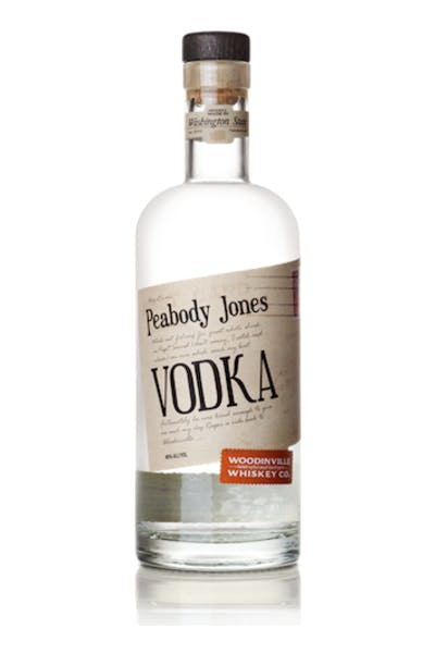 Peabody Jones Vodka