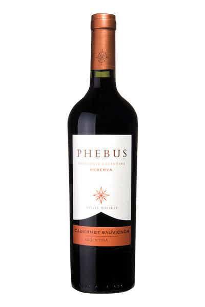 Phebus Cabernet Sauvignon Reserva Patagonia