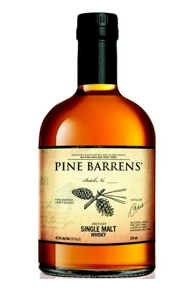 Pine Barrens Single Malt Whiskey