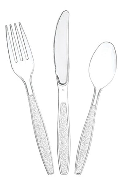 Plastic Spoons/Forks/Knives Assorted