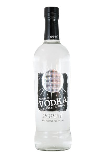 Poppin' Original Vodka