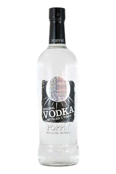 Poppin' Original Vodka