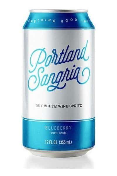 Portland Sangria Blueberry Basil