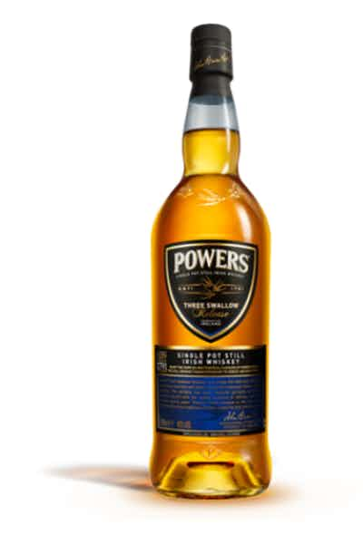 Powers Three Swallow Irish Whiskey