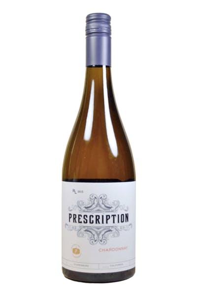 Prescription Chardonnay 2015