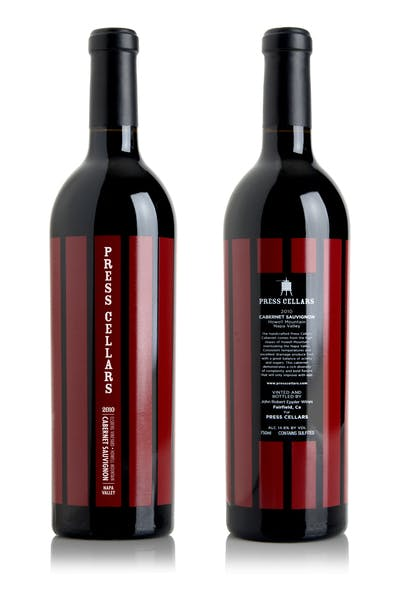Press Cellars Cabernet Sauvignon 2013