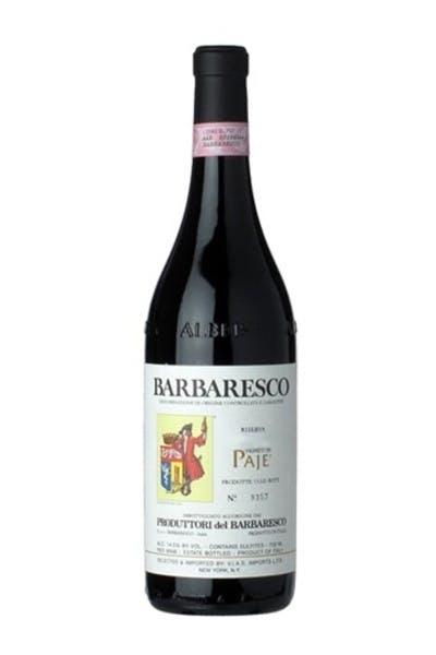 Produttori del Barbaresco Barbaresco Paje Riserva