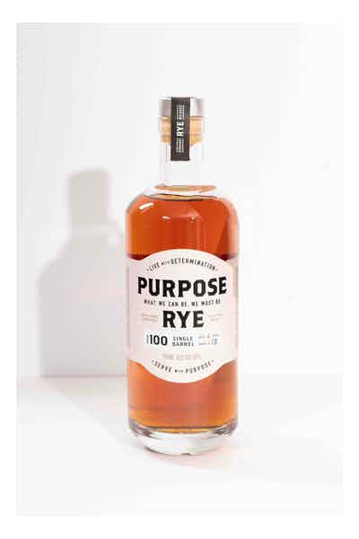 Purpose Rye Whiskey