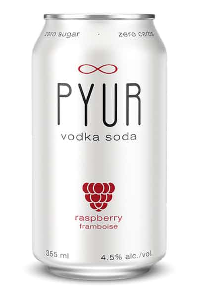 PYUR Raspberry Vodka Soda