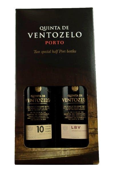 Quinta De Ventozelo Late Bottle Vintage & 10 Year Tawny Port Set