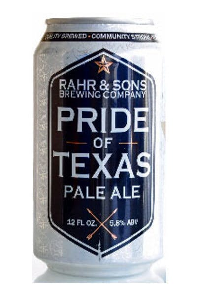 Rahr & Sons Pride of Texas Pale Ale
