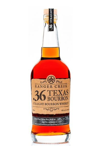 Ranger Creek .36 Texas Straight Bourbon