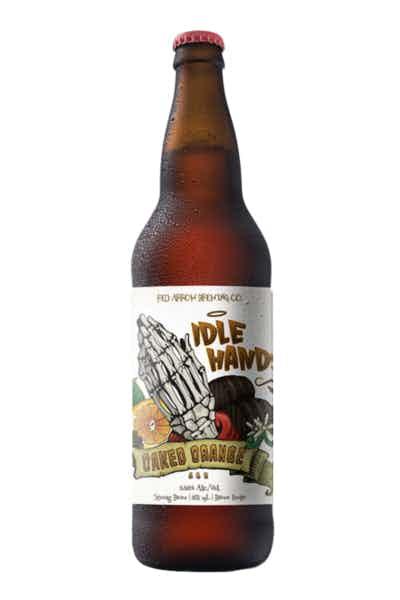 Red Arrow Idle Hands Oaked Orange Ale