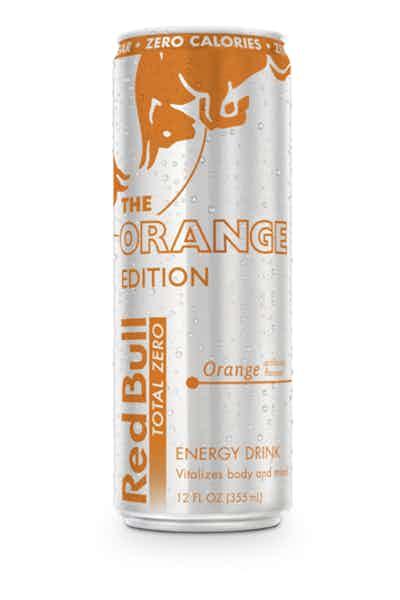 Red Bull Orange Edition   Orange